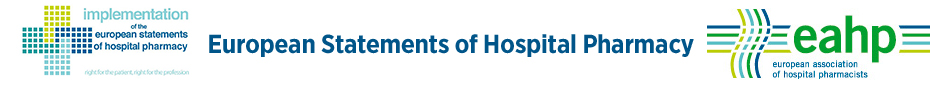 European Statements on Hospital Pharmacy logo